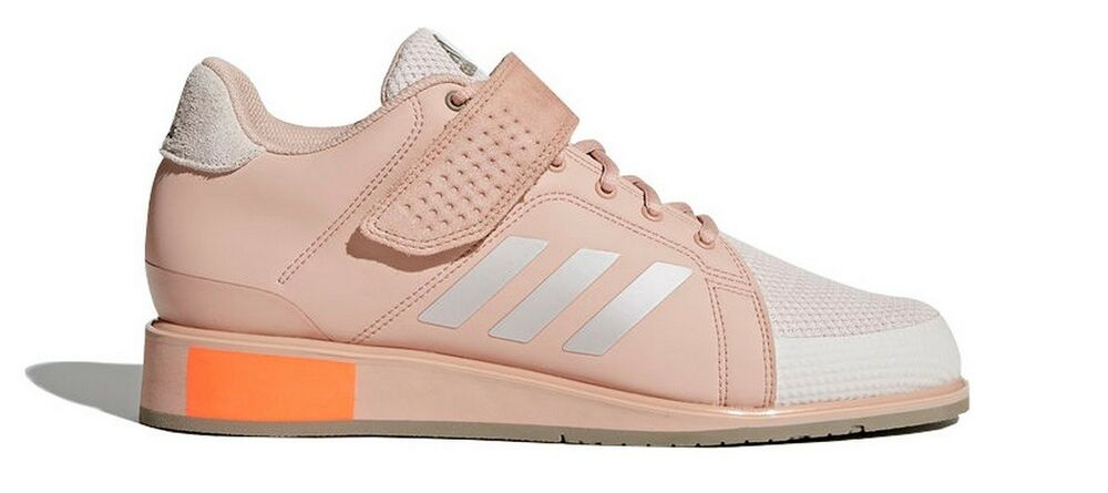 e5c9d919f33 Adidas Power Perfect III Women s Weightlifting Shoes Trainers Sports Pink  DA9882