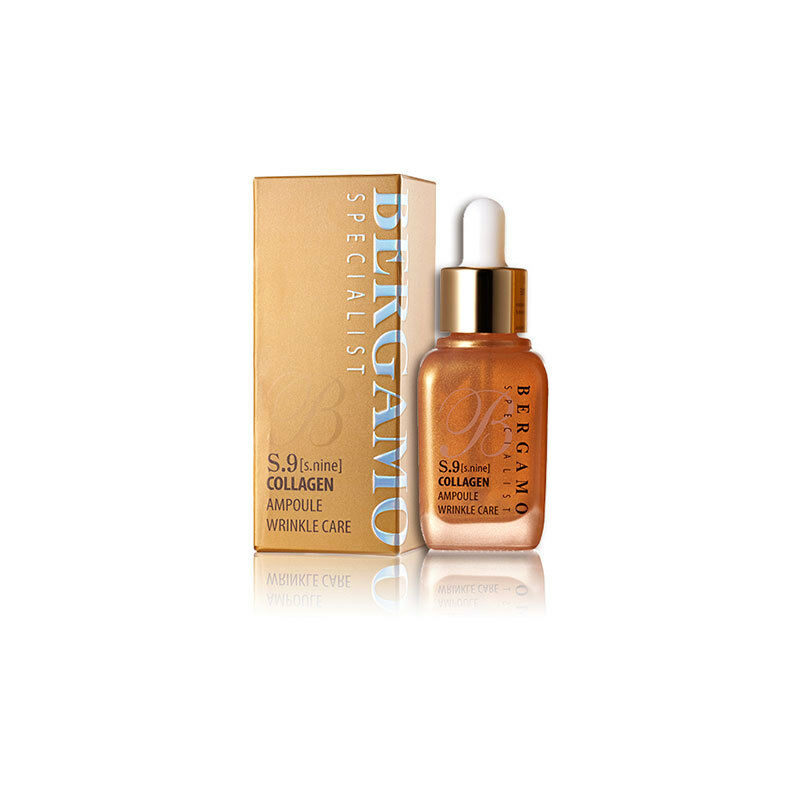 Bergamo S 9 Collagen Ampoule Wrinkle Care 30ml Best