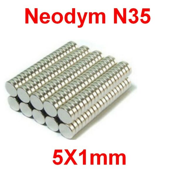 Aimants Néodyme 5X1mm ultra puissant N35 :Photo,Magnet,Fimo,Scrapbooking...