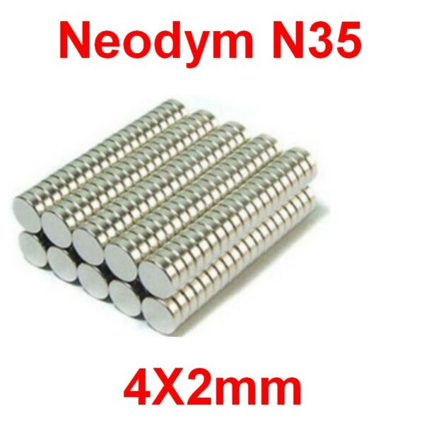 Aimants Néodyme 4X2mm ultra puissant N35 :Photo,Magnet,Fimo,Scrapbooking...