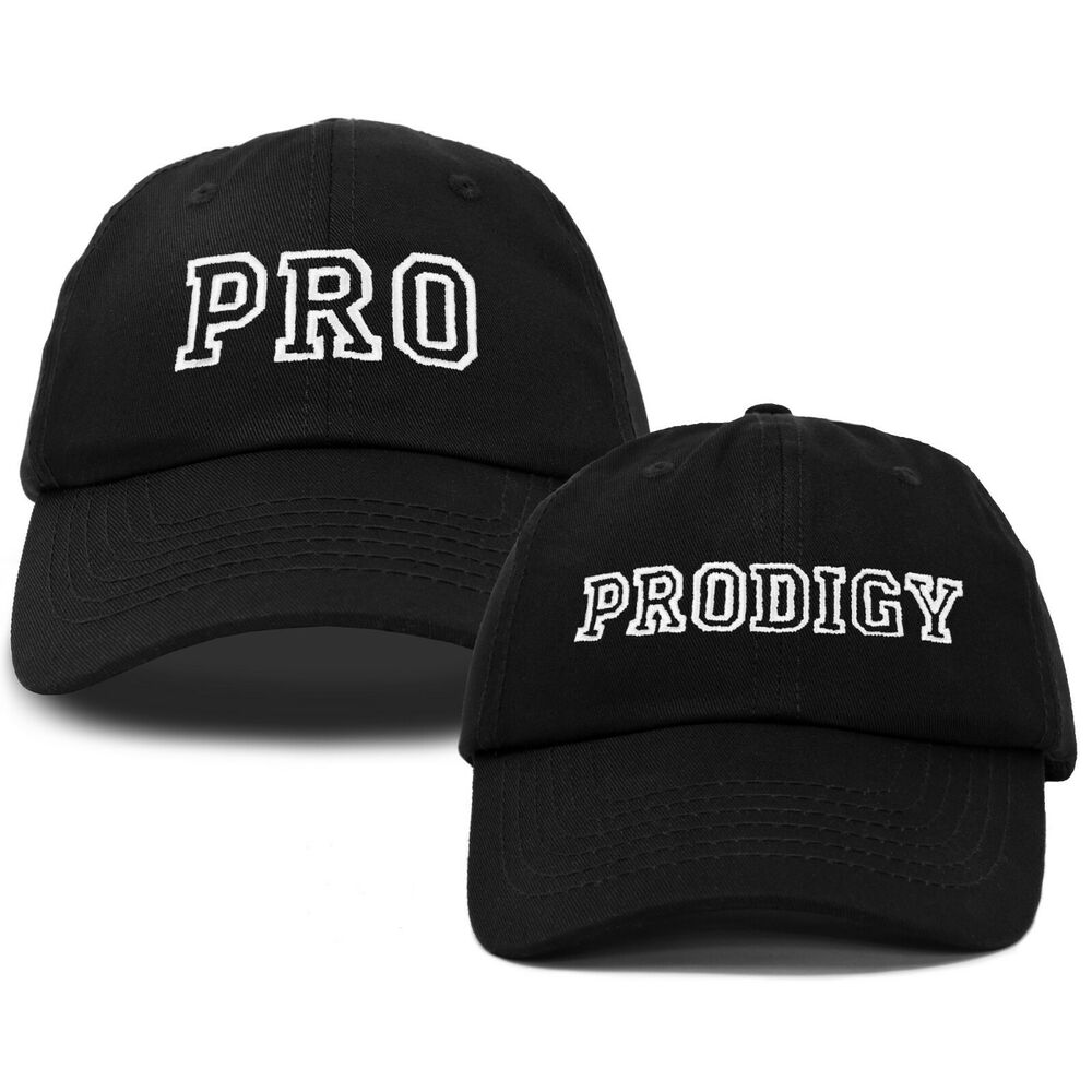 Details about DALIX Father Son Hats Dad and Son Matching Caps Embroidered  Pro Prodigy 14c5f0beeaf