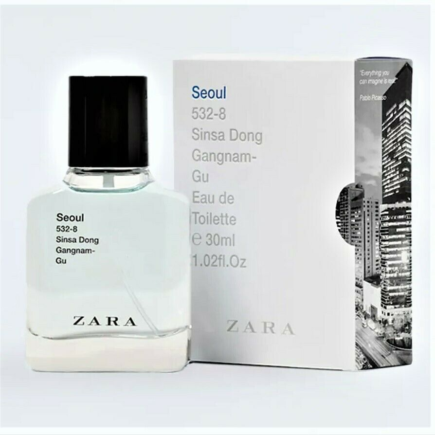 zara seoul for man eau de toilette edp fragrance perfume. Black Bedroom Furniture Sets. Home Design Ideas