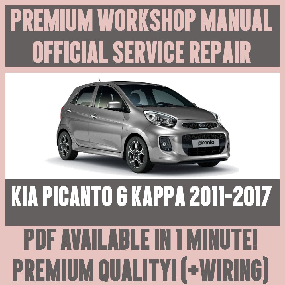 Workshop manual service repair guide for kia picanto g kappa 2011 workshop manual service repair guide for kia picanto g kappa 2011 2017 wiring ebay cheapraybanclubmaster