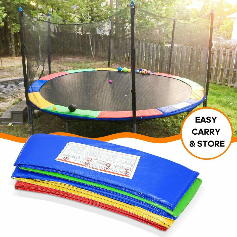 Super Trampoline Replacement Safety Pad Spring Cover: 15FT Trampoline Replacement Safety Pad Spring Round Frame