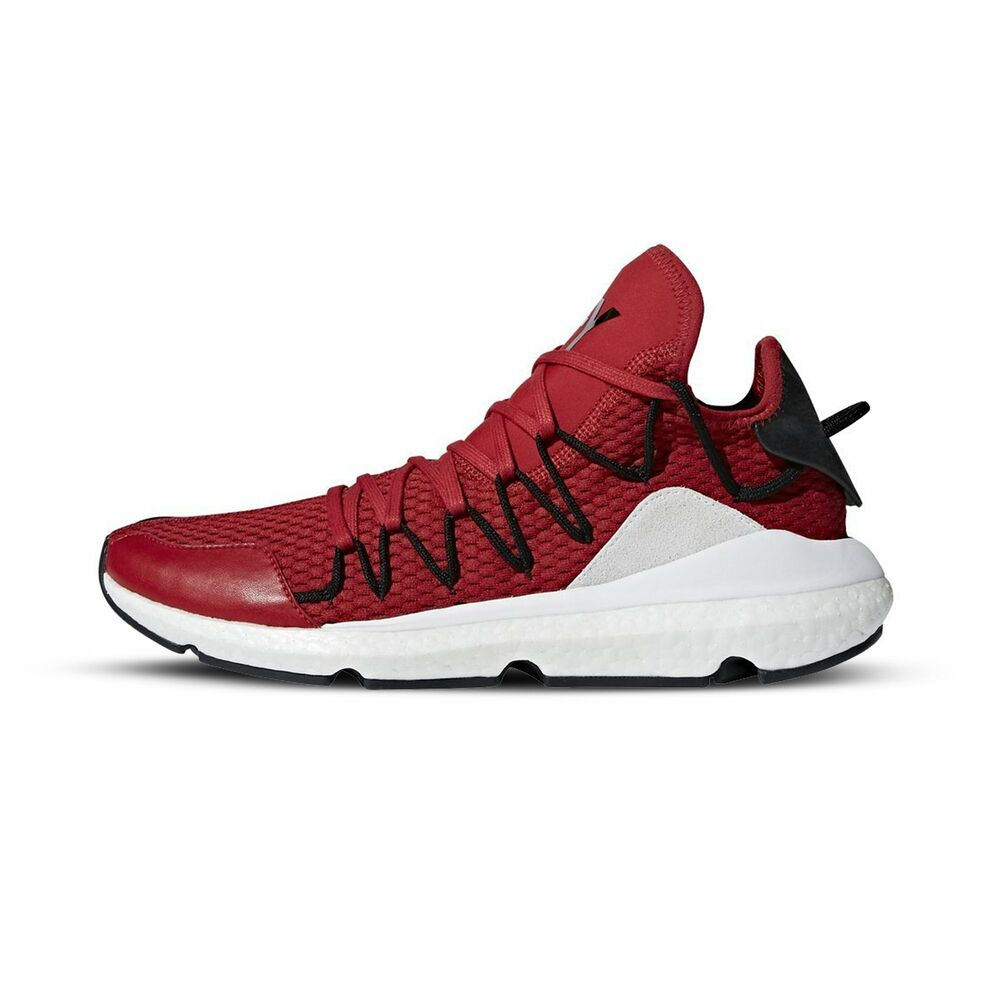 new products 749a9 87e8a Details about  AC7191  Mens Adidas Y-3 KUSARI - Chili Pepper Y-3 Core Black  Core White