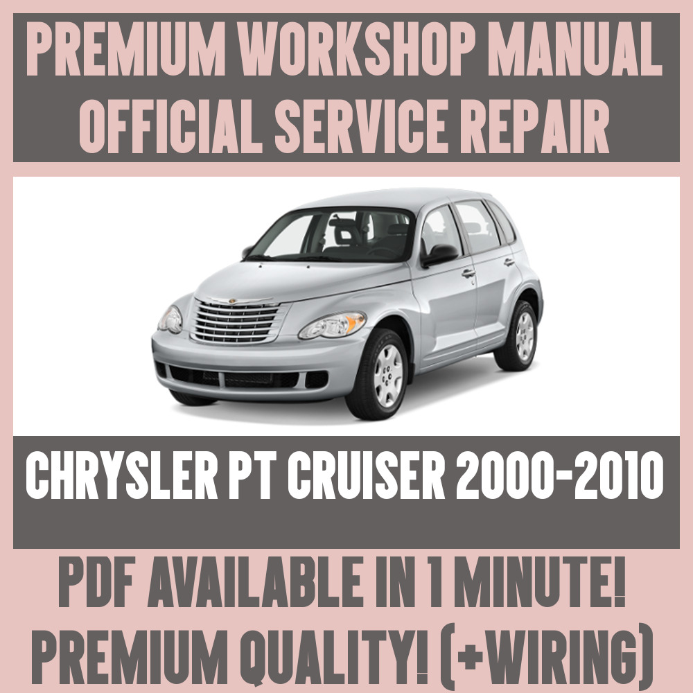 Details about *WORKSHOP MANUAL SERVICE & REPAIR GUIDE for CHRYSLER PT  CRUISER 2000-2010+WIRING