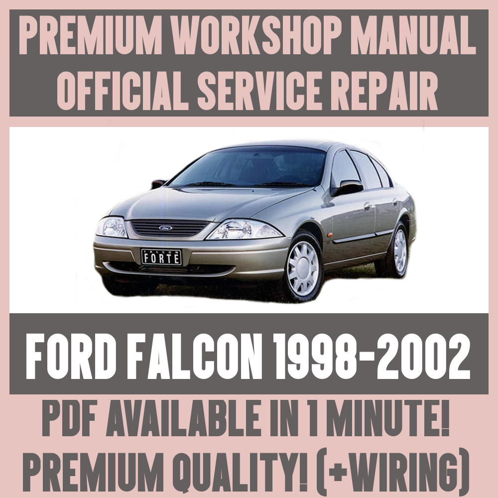 *WORKSHOP MANUAL SERVICE & REPAIR GUIDE for FORD FALCON 1998-2002 +WIRING    eBay