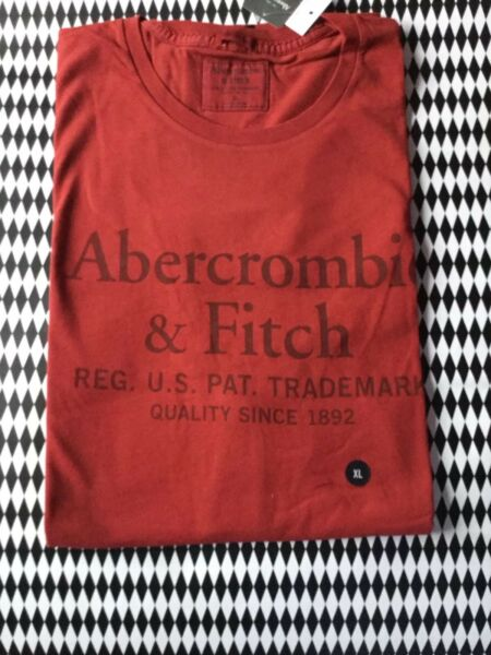 GENUINE ABERCROMBIE AND FITCH MENS TSHIRT XL