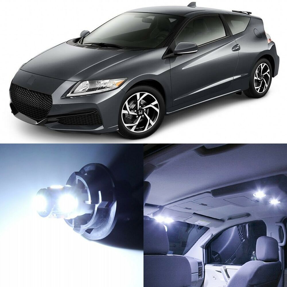 11 X Xenon White Interior LED Lights Package For 2011