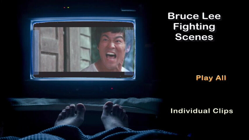 Dvd Bruce Lee Fighting Scenes Fighting Clips Only Bruce Lee