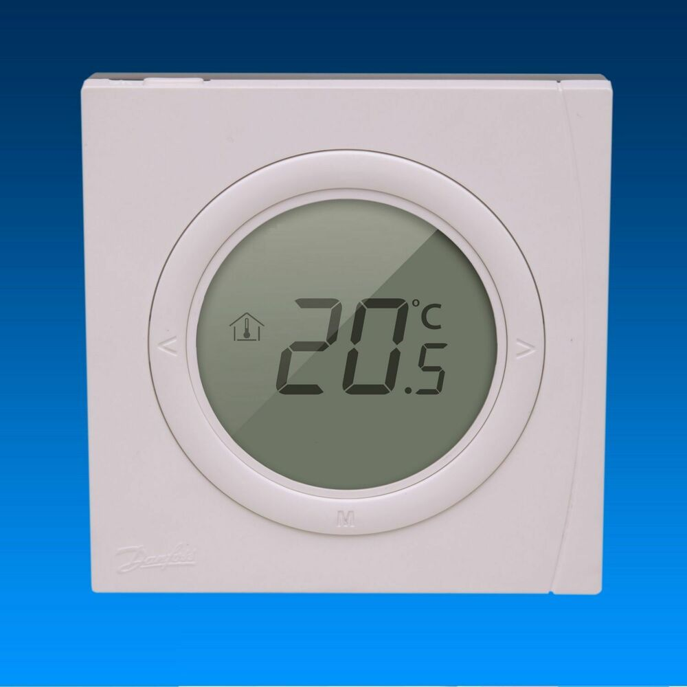 danfoss basicplus raumthermostat digital unterputz 230 v fu bodenheizung 5702425102998 ebay. Black Bedroom Furniture Sets. Home Design Ideas