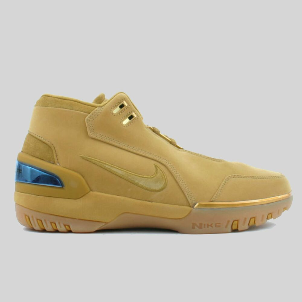 newest 1683e 7bb10 Details about Nike Air Zoom Generation Lebron 1 ASG QS Wheat size 12.  AQ0110-700