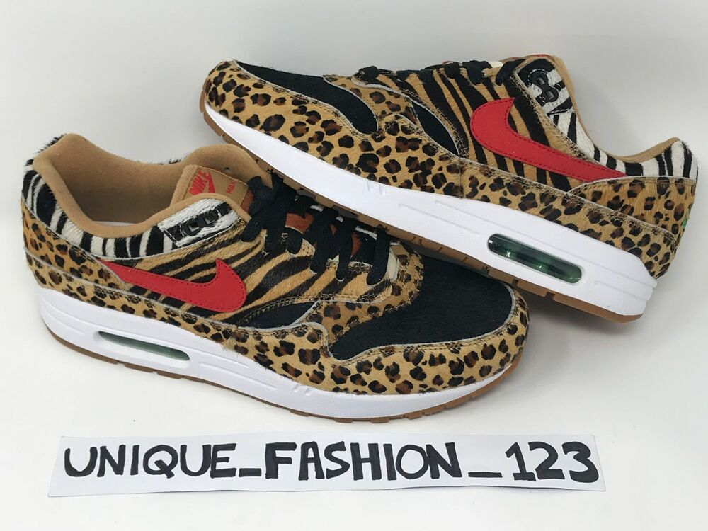 timeless design 73cbb a90fc ... authentic nike air max 1 x atmos animal pack 2.0 uk 4 5 6 7 8
