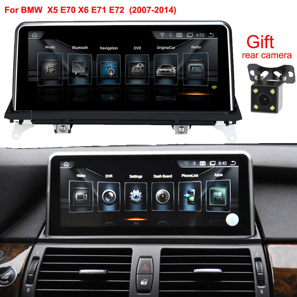 android 8 1 car auto gps navi stereo for bmw x5 e70. Black Bedroom Furniture Sets. Home Design Ideas