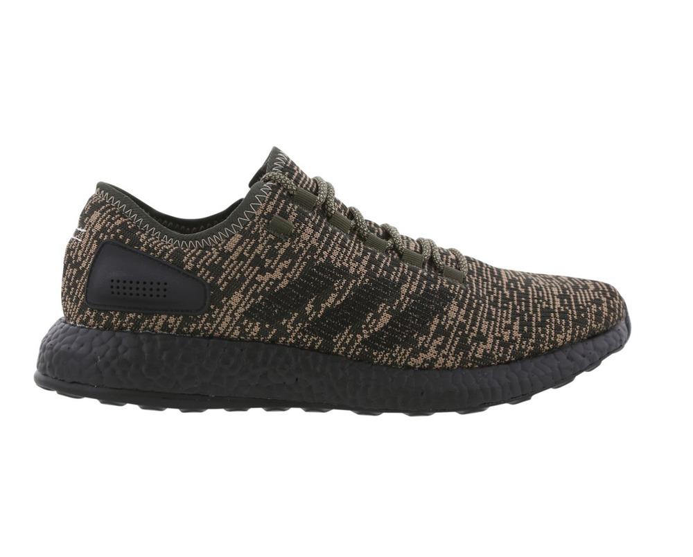 c6def35c77215 Details about Mens ADIDAS PUREBOOST Night Cargo Running Trainers CG2986