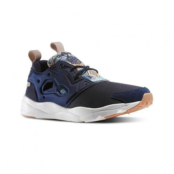 Details about Mens Reebok Furylite Graphic Pack Faux Indigo Chalk Parchment  V67073 ALL SIZES 42b690d66a
