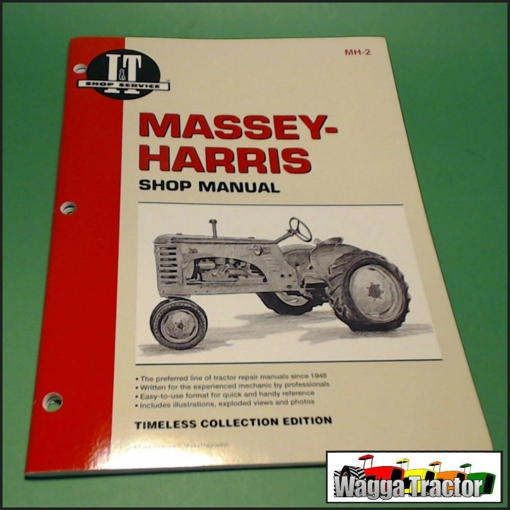 MH2 Workshop Manual Massey Harris MH 20 22 30 44 55 101 102 201 202 203  Tractor 24185855347 | eBay