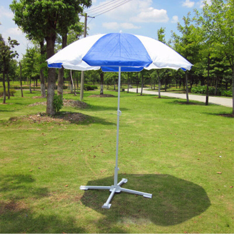 Details About Beach Parasol Sunshade Base Holder Portable Outdoor Patio Umbrella Stand