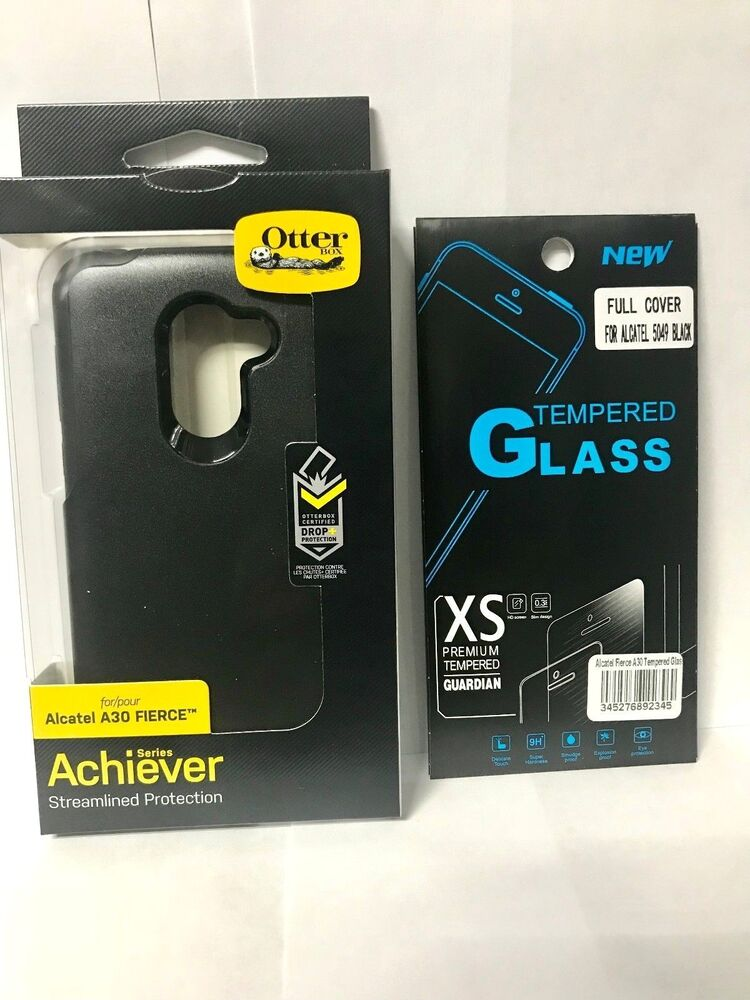various colors 64474 5fe4f Alcatel A30 Fierce Otterbox Achiever Series Dual Layer OEM PRODUCT FREE  TEMPERED | eBay