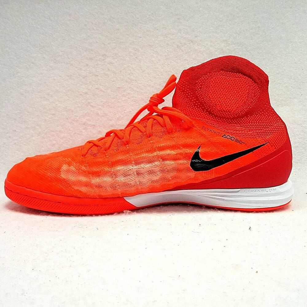 57cfd0bd8 Details about New  175 Nike MagistaX Proximo II IC Indoor Cleats Crimson  Black Red Size 10.5
