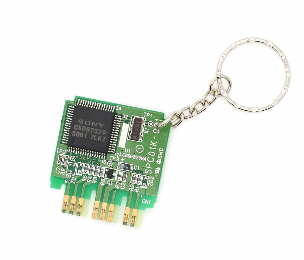 Official Sony Playstation Ps1 Memory Card Circuit Board Keyring Lightupcircuitboardkeychain Retro Gamer Gift Ebay