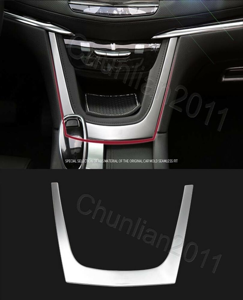 2018 Cadillac Cts V Exterior: Inner Matt Console Central Control Panel Cover Trim For