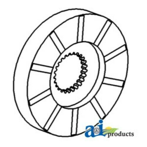 details about new brake disc for john deere am1967t am1967t john deere 4320  wiring diagram