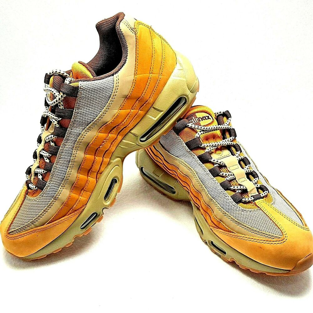 the best attitude 2c991 058e1 Details about New Nike Air Max 95 Premium Wheat Bronze Baroque Brown Bamboo  Men s Size 11