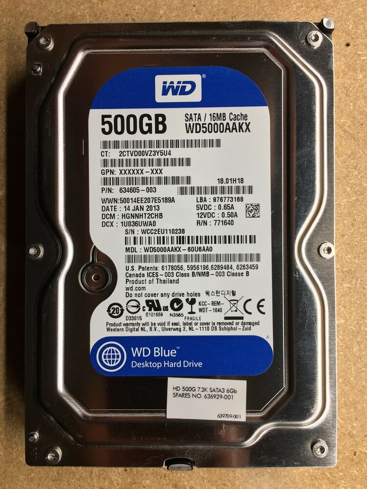 Wd5000aakx firmware youtube.