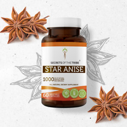 Secrets Of The Tribe Star Anise Capsules, 500 mg