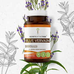 Secrets Of The Tribe Blue Vervain Capsules, 500 mg
