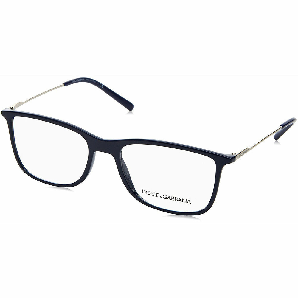 405f569a5a4 Details about New Authentic DOLCE   GABBANA Eyeglasses DG5024 Navy Blue  3094 Italy 55mm