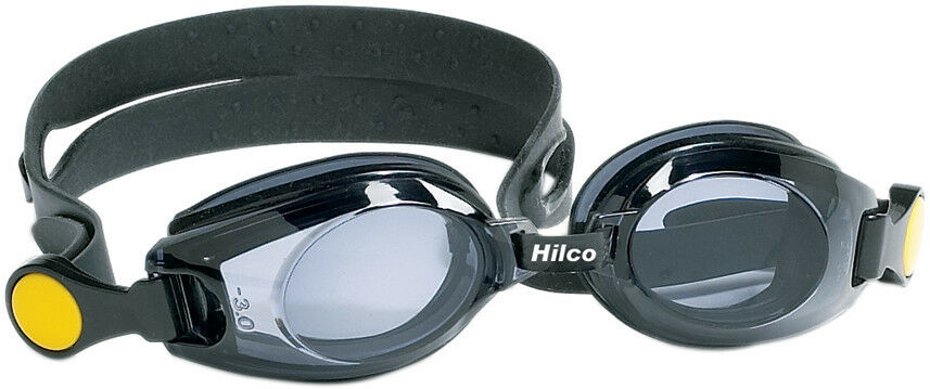 85537c5bed1f Hilco Leader Child Kids Junior Vantage Prescription Swimming Goggles Black  Blue