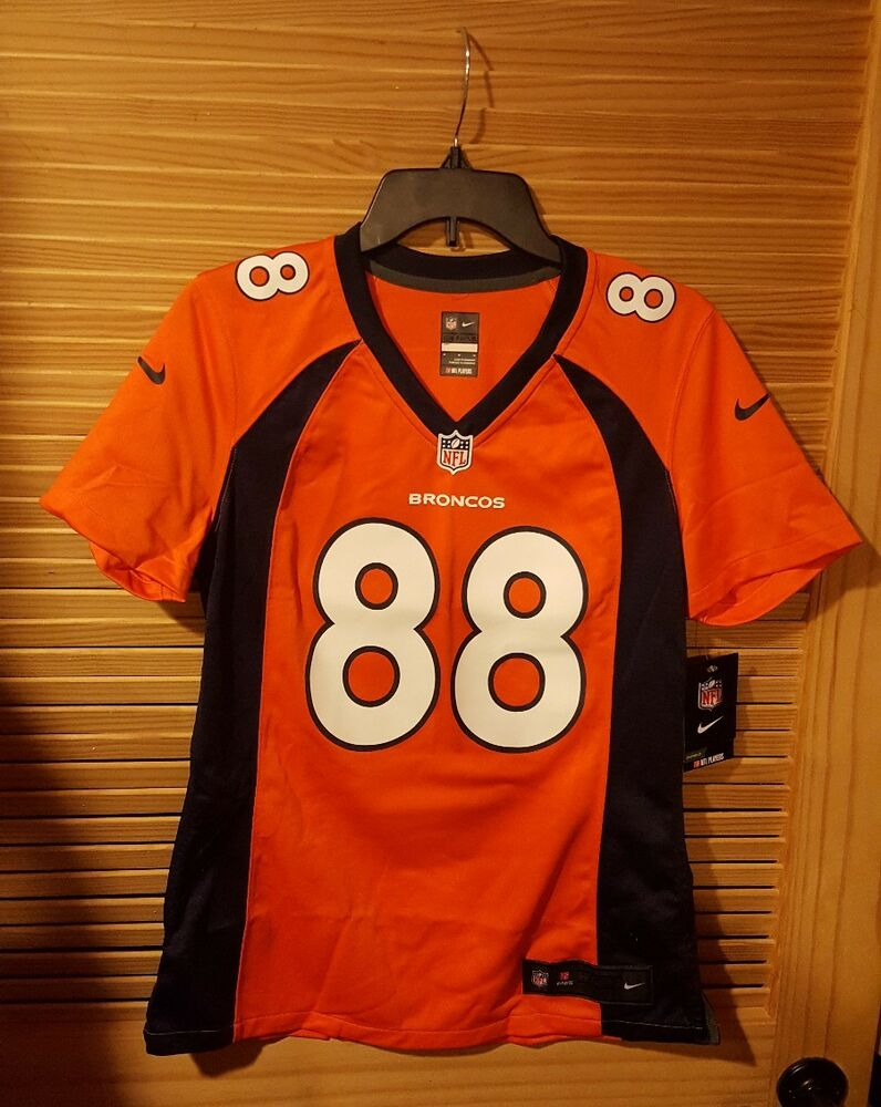 Details about NWT Wmns M NIKE 🏈 NFL Demaryius Thomas  88 Denver Broncos  Authentic Game Jersey 8d5a4c8bf