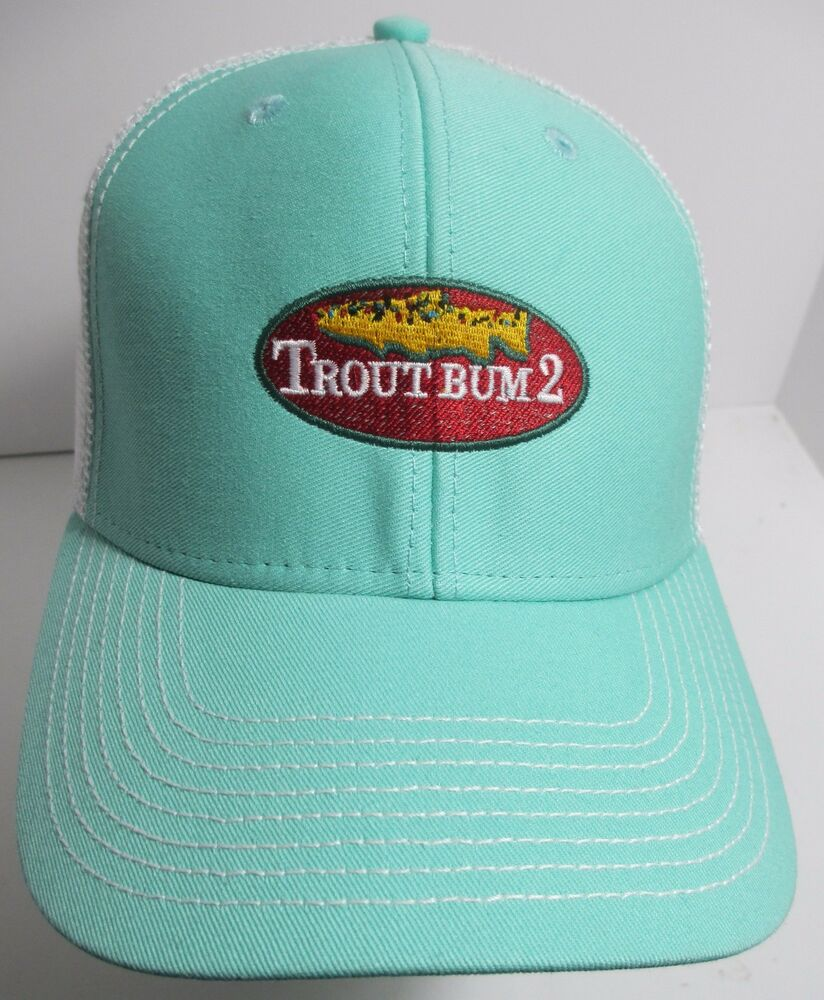 info for 98d42 b69b2 ... release date details about trout bum2 bum 2 fly fishing hat cap trucker  snapback utah usa