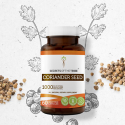 Secrets Of The Tribe Coriander Seed Capsules, 500 mg