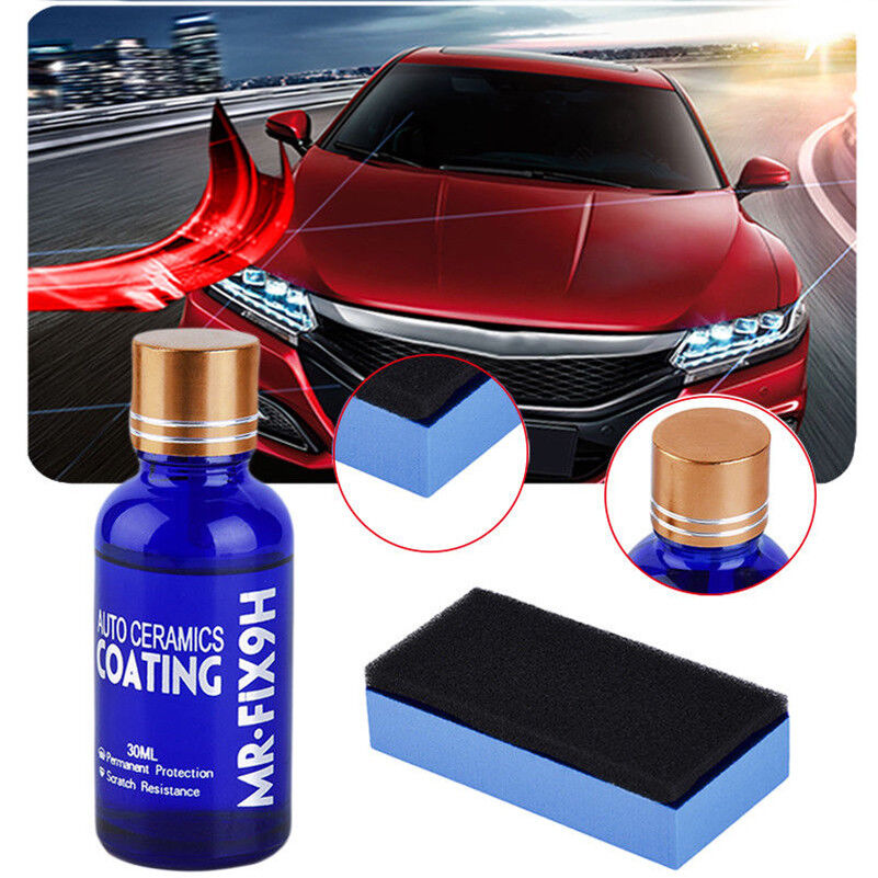 9h nano ceramic car glass coating liquid hydrophobic anti. Black Bedroom Furniture Sets. Home Design Ideas