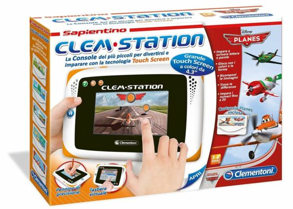 Clementoni 13858 Clem Station Disney Planes Tablet Touch Screen Sapientino