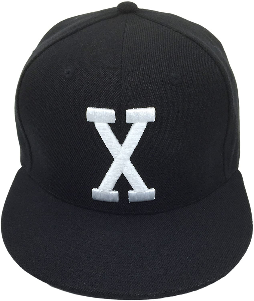 Details about Malcolm X Hat Cap Bhm Dad Cap Snapback Custom 90S 3D Embroidered  X Vintage Black cce3b1a2f6b2