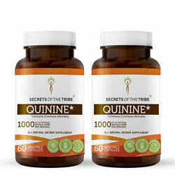 Secrets Of The Tribe Quinine Capsules, 500 mg