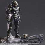 PLAY ARTS KAI HALO 5 GUARDIANS NO:1 MASTER CHIEF STATUE MODEL ACTION FIGURES TOY