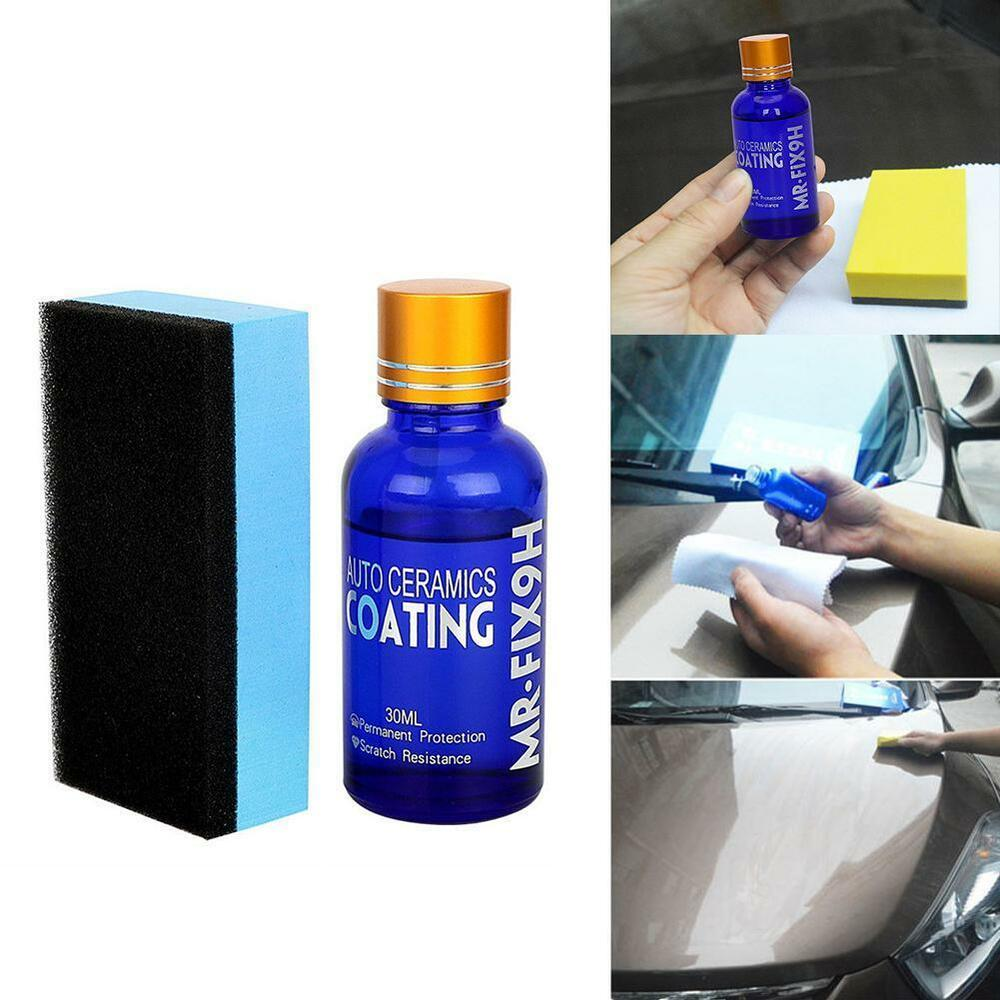 9h mr fix nano ceramic car glass coating hydrophobic anti. Black Bedroom Furniture Sets. Home Design Ideas