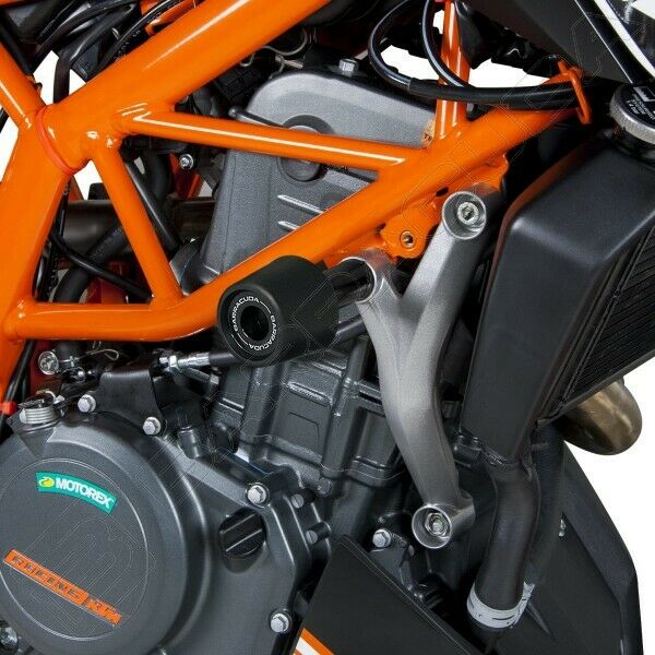BARRACUDA KIT COPPIA TAMPONI PARATELAIO CARENA KTM DUKE 390 2017-2020