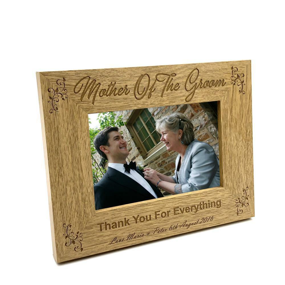 Personalised Mother Of The Groom Photo Frame Wedding Gift Fw152 Ebay