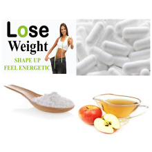 High Potency Apple Cider Vinegar Pills 1250 MG/Serving Lose Body Fat & Weight