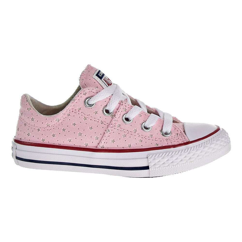 98945c1a463a69 Details about Converse CTAS Madison OX Big Kids Shoe Cherry  Blossom Driftwood White 660711F