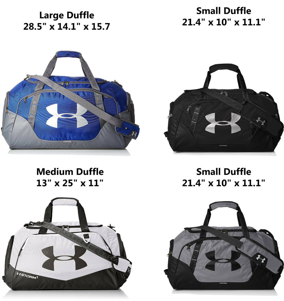 da2baaf481 Details about Under Armour Undeniable 3.0 Duffle Bag Small Medium Large  Pick Size Color NEW