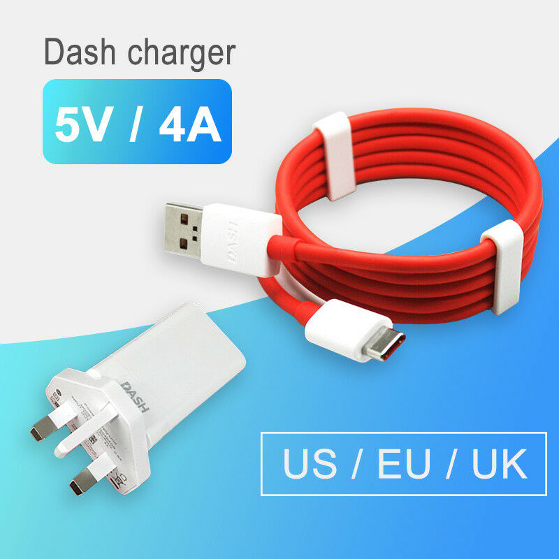 Fast Adapter Dash Charger For Oneplus 5T 5 3T 3 Type-C Dash Cable 5V ...