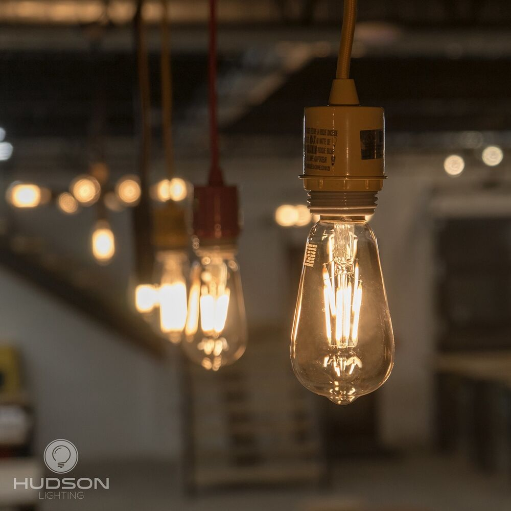 Details About Led Dimmable Vintage Edison Bulbs 4w Antique Style Light 2200k