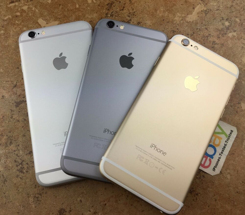 apple iphone 6 silver gold space gray unlocked 16 64gb. Black Bedroom Furniture Sets. Home Design Ideas